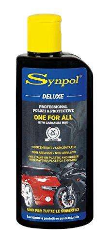 Synpol Deluxe Crema lucidante e protettiva per auto, 200 ml