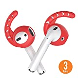 AhaStyle [3 Pairs] Earbuds Ear Hooks and Covers Silicone for Apple AirPods 2