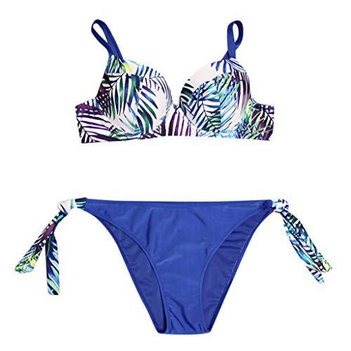 For Sale! Women Swimwear Plus Size Bathing Suit Push-up Brazilian Beach Swimsuit Halter Bikini Top B...