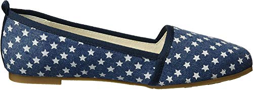 Tamaris Damen 24668 Slipper, Blau (Denim Stars 839), 38 EU