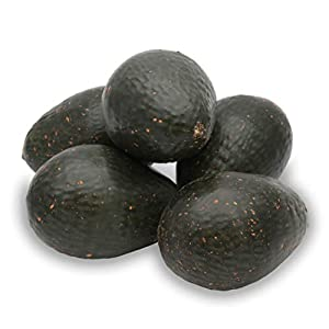 KABAKE 5pcs Artificial Avocados Prop Decor Fake Lifelike Plastic Green Avocado Fruit Vegetable Home Party Festival Decorations (5pcs Artificial Avocados)