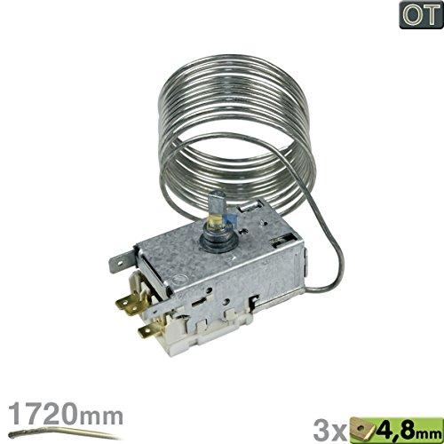 ORIGINAL Liebherr 6151194 Thermostat Temperaturregler Regler K57-L5554 Ranco Kühlschrank auch Miele 5783331 u. a. KIP2340-24A, KIP1740-24C