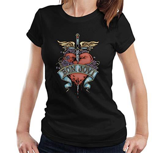 Bon Jovi Heart and Dagger Women's T-Shirt