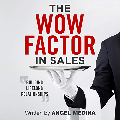 The Wow Factor in Sales: Building Lifelong Relationships audiobook cover art