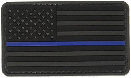 Star 5ive Gear Écusson Motif Drapeau américain Motif Morale à Rayures Bleues, Noir/Bleu, Taille Unique