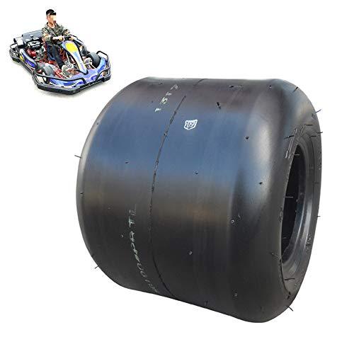 Neumáticos de scooter eléctrico, 10X3.60-5/11X6.00-5 5 pulgadas A prueba de explosiones Resistente al desgaste Neumáticos de vacío, Aplicar para reemplazar Kart Neumáticos delanteros traseros,11X6 5