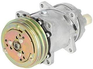 Air Conditioning Compressor - w/Clutch Sanden Style Massey Ferguson 8680 8780 Versatile 276 256 836 New Holland TR86 TR96 Gleaner R65 R72 R62 R75 Ford 675D 655D 555C 655C 555D 9030 Hesston Spra-Coupe