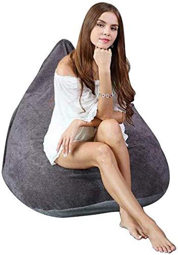 QTQZDD zitzak, prachtige zitzak, grote zitzak voor binnen en buiten, perfecte lounge- of gaming-stoel om in te klappen (kleur: blauw) 1 1