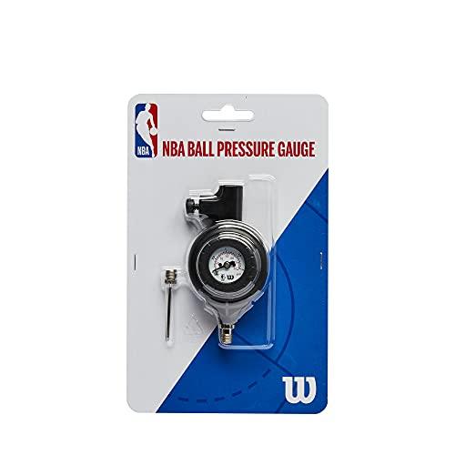 Wilson Manómetro NBA BALL PRESSURE GAUGE, Incl. Aguja, Equipamiento oficial de la NBA