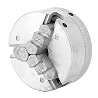 三爪チャックZ011、亜鉛合金三爪チャック治具産業用工作機械部品工作機械ミニ金属旋盤用クランプ