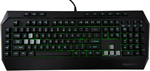 AmazonBasics Mechanical Feel Gaming Keyboard