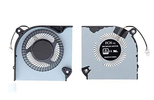 HuiHan - Ventola di ricambio per Acer Nitro 5 AN515-43 AN515-54 AN517-51 / Nitro 7 AN715-51 GPU (GPU)