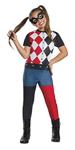 Super Hero Girls–Costume Harley Quinn SHG Inf, Multicolore (Rubies 640075-m)