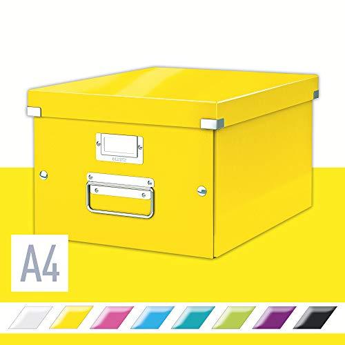 Leitz Click & Store Aufbewahrungs- und Transportbox, A4, gelb, 60440016