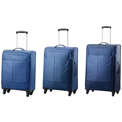 Carlton Ultralite NXT Navy 3pc Luggage Set