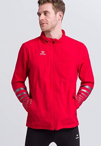 Erima Veste Running Race Line 2.0 Jacket Mixte Adulte, Rouge, FR : 3XL (Taille Fabricant : XXXL)