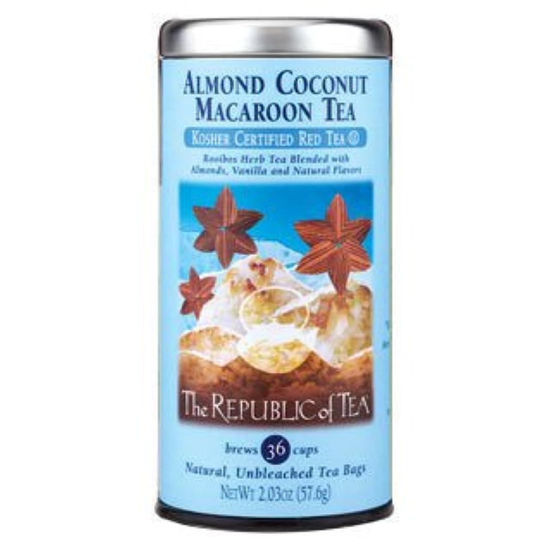 The Republic of Tea - Almond Coconut Macaroon Red Tea Bags, 36 Tea Bags (Pack of 3) hugdiixq67941