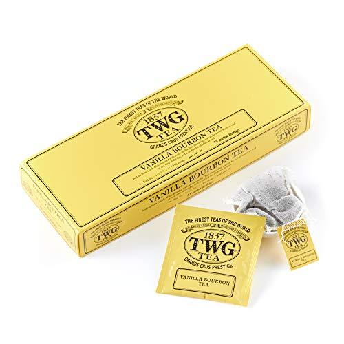 TWG Tea |Vanilla Bourbon Tea(コットンティーバッグ, 2.5g×15個入り)
