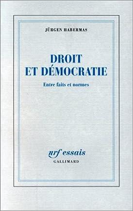 DROIT ET DEMOCRATIE. Entre faits et normes