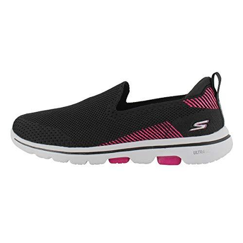 Skechers Go Walk 5 Prized, Zapatillas para Mujer, Negro (Bla