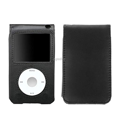 Leather Cover Case for Apple iPod Classic 80/120/160GB with Detachable Clip Nov09