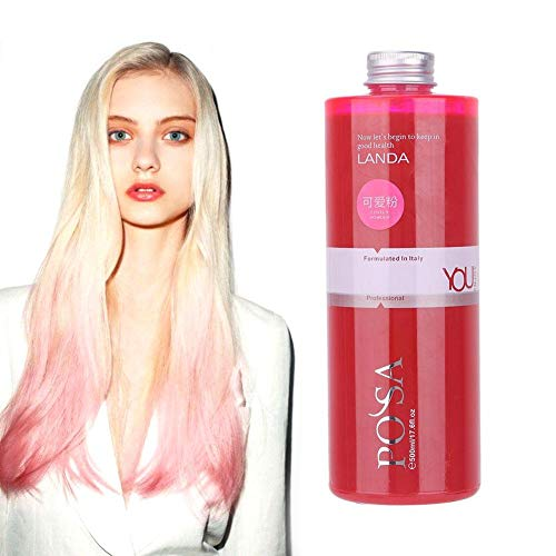 Temporary Pink Hair Wax Unisexe Wax Hair Color Dye Styling Cream Mud, Lavable Temporaire, Cosplay Party