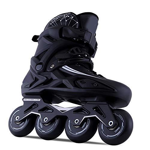 GSKTY Inline Skates Kinder/Erwachsene verstellbar mädchen/Jungen Inline Skates Rollschuhe PU Verschleißfeste Roller Skates Unisex