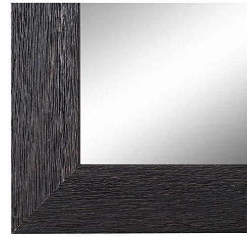Online Galerie Bingold Spiegel Wandspiegel Badspiegel - Florenz Schwarz 4,0 - handgefertigt - 200 Größen zur Auswahl - Modern - 40 x 60 cm