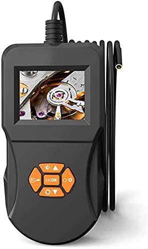 Kettles 5,5 mm Videocamera Endoscopio 2,4 Pollici Colore LCD Schermo LCD Endoscopio Industriale con 6 LED Telecamera Serpente Impermeabile per Auto Strumento di Pulizia ispezione per Auto (Size : 3M)