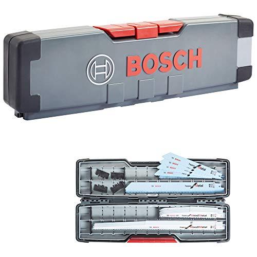 Bosch Professional 16tlg. Säbelsäge Blätter Set Heavy (für Holz und Metall, Zubehör für Säbelsägen)