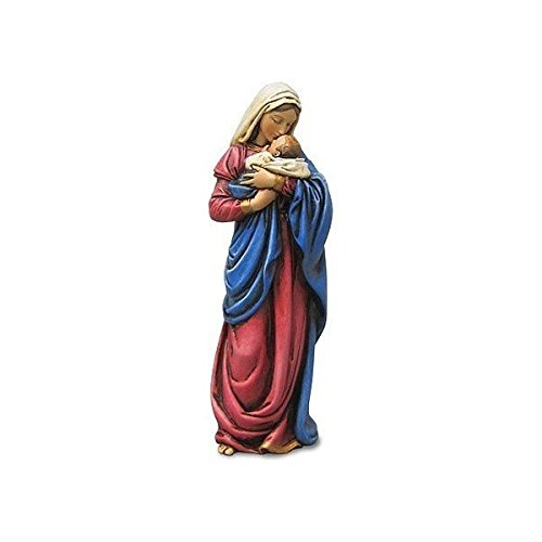 Religious Gifts Mary Mothers Kiss Figurine Statue Baby Jesus Catholic Christian Religious Gift