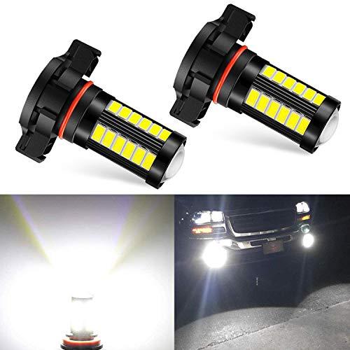 JDM ASTAR 702 2504 WHITE LED FOG LIGHT BULBS