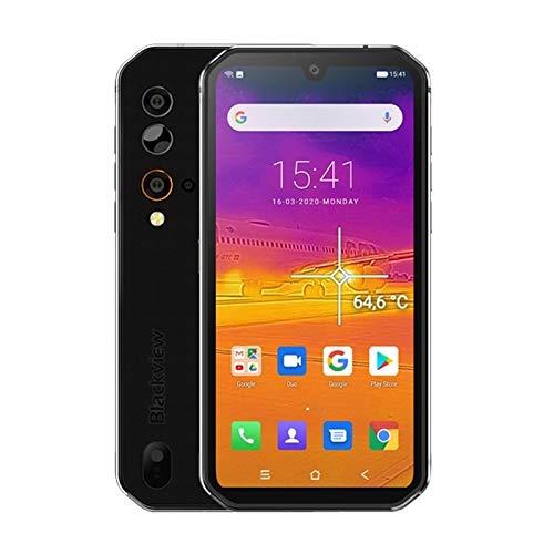 Zweifacher SIM-Netzwerk: 4G, 6,49 Zoll Wassertropfen Scr Netzwerk: 4G NFC, 5,84 Zoll Android 9.0 MT6779V Helio P90 Octa-Core bis zu 2,2 GHz, Seitenmontage Fingerabdruck-Identifizierung, 4380mAh Batter