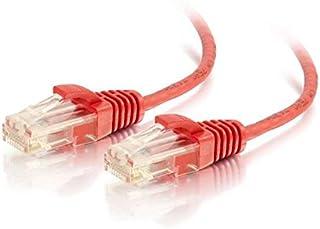 كابل تو غو 01169 Cat6 بدون حماية (UTP) كابل تصحيح شبكة ايثرنت نحيف (3 متر) ، أحمر (3 متر)