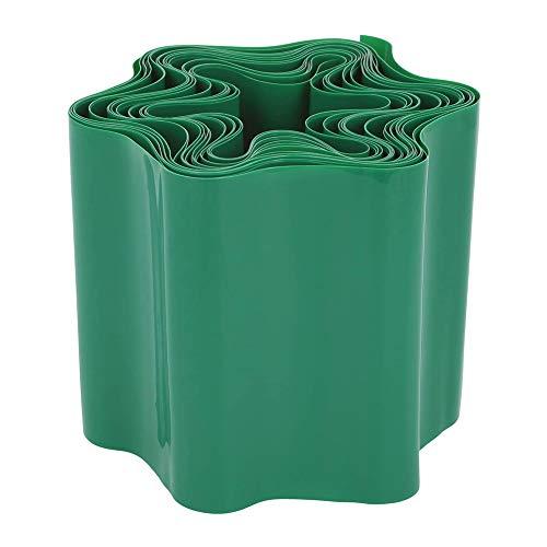 GOODGDN Rasenkante aus Kunststoff - Raseneinfassung Beeteinfassung für Rasen Blumenbeet Oder als Mähkante, Länge Individuell Anpassbar, 10 x 900 cm Grün