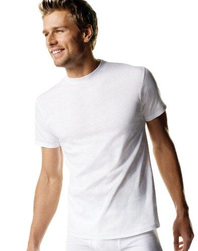 3 Cotton Hanes® T-shirts White, M