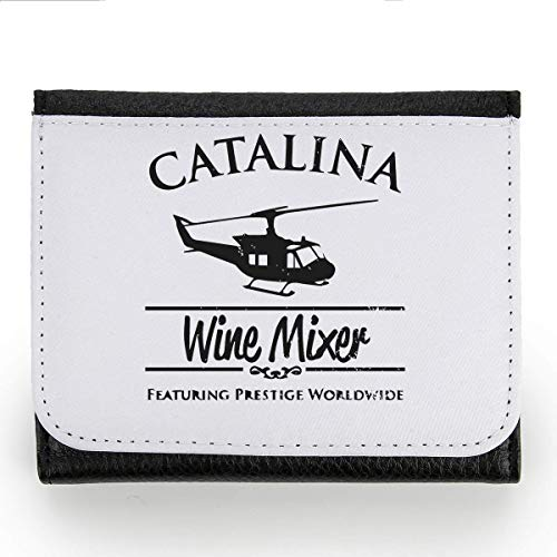Catalina Wine Mixer Wallet Coin Pocket Purse Brieftasche