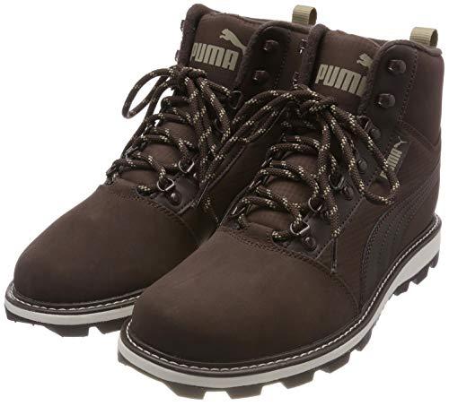 Puma Unisex-Erwachsene Tatau Fur Boot 2 Sneaker, Braun (Black Coffee-Chocolate Brown), 39 EU
