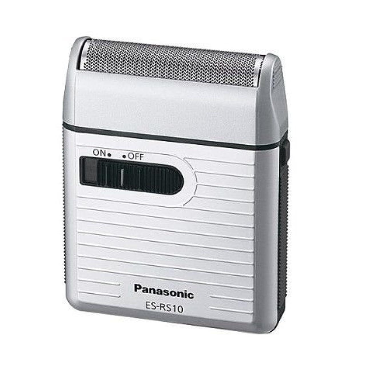 赤字勉強する近傍Panasonic ES-RS10-S ンズポケットシェーバーシルバー ESRS10 日本製 [並行輸入品]