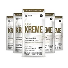FAST ENERGY: Whether first thing in the morning or during that afternoon slump, get increased focus with this MCT and coconut fat one-two punch. KETO//KREME uses the shortest MCT's, easily converting into ketone energy which can be used by the brain,...