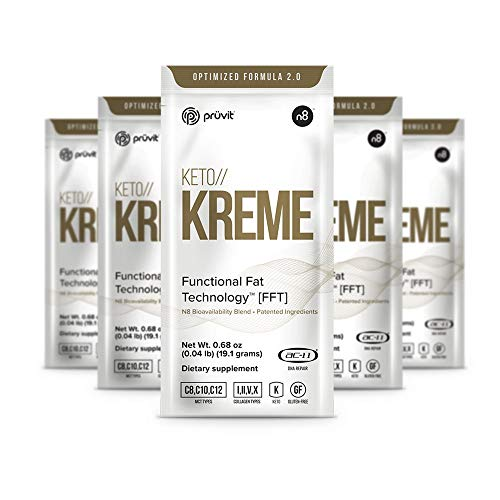 KETO//KREME 2.0 with Functional Fat Technology FFT, MCT Oils for Brain...