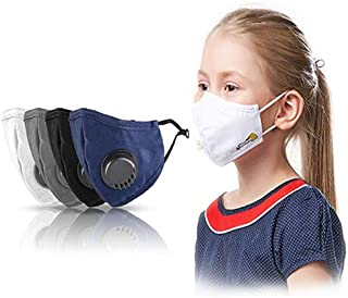 Primask Junior - Kids Reusable, Washable Face Masks. 6 Layers of Protection in 3 different sizes with Ear loop adjustor, N...
