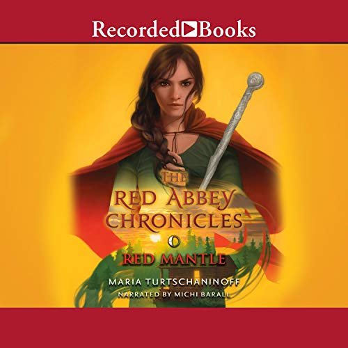 The Red Mantle audiobook cover art