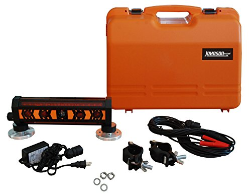 Johnson Level & Tool 40-6791 Machine Mountable 360-Degree Laser Detector with Clamp and Magnet