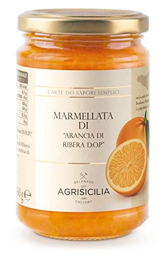 Agrisicilia Agr059 Marmellata di Arancia di Ribera Dop - 360 G