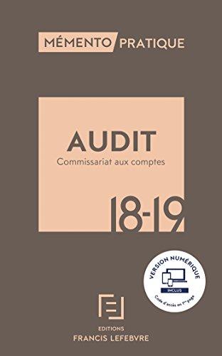 MEMENTO AUDIT ET COMMISSARIAT AUX COMPTES 2018-2019