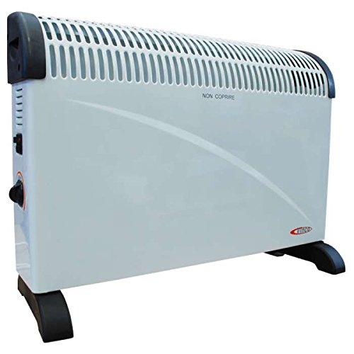 70504 VINCO Termoconvettore stufa elettrica 2000W termostato ventilazione caldo