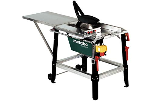 Metabo Tischkreissäge TKHS 315 M - 3,1 WNB (0103153100) Karton, Abmessungen: 1700 x 700 x 1000 mm, Max. Auflagefläche: 800 x 600 mm, Arbeitshöhe: 850 mm