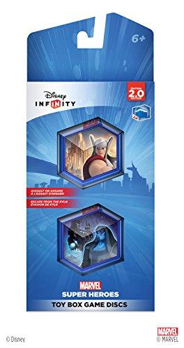 Disney INFINITY: Marvel Super Heroes (2.0 Edition) Toy Box Game Discs