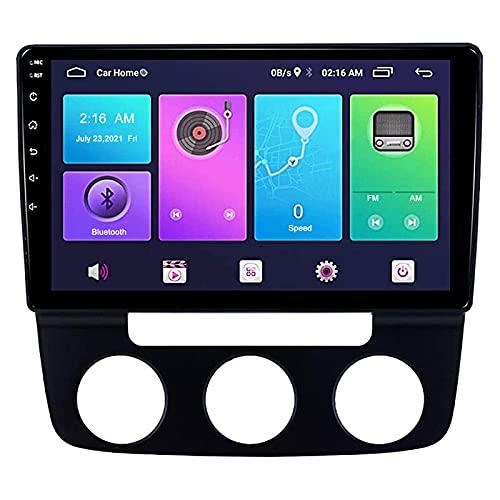 HYCy Navigatore Dvd per Auto GPS Adatto per La Navigazione per Auto Volkswagen Sagitar 4+64G 4G 06-10 Supporta Completamente Netcom DSP WiFi Wireless CarPlay Integrato
